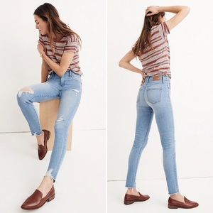 """Madewell 9"""" High-Rise Skinny Jeans Ontario Size 31"""